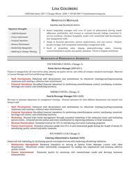 Hospitality Sample Resume by Sample Resumes Resumewriting Com