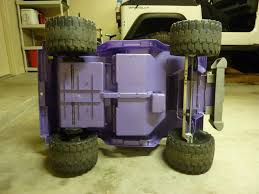 jeep power wheels for girls modified power wheels conversion barbie jeep to rock crawler jr