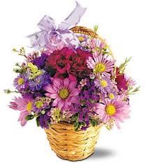 basket of flowers basket of flowers rine s florist