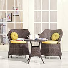 Armchair Set Masai Patio Chairs Set Of Two Teak Finish Urban Ladder