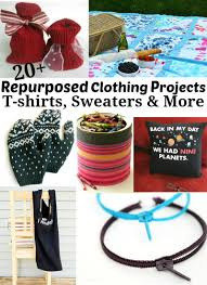 repurposed clothing projects t shirts sweaters u0026 more