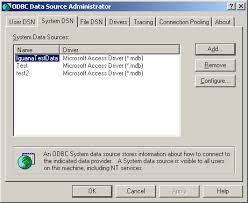 membuat database admin dengan xp setting up an odbc data source for ms access
