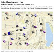 Crime Mapping Com Events