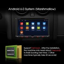 android in dash android din car stereo radio 6 95 touch screen