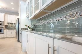 kitchen amazing white shaker kitchen cabinets with green ceramic