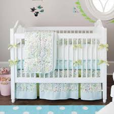 Butterfly Nursery Bedding Set by Purple And Teal Baby Bedding Yakunina Info