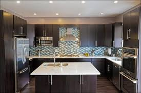 kitchen blue painted cabinets best white for kitchen cabinets