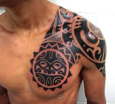 tribal shoulder tattoo 46 img pic bodyart