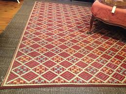 Large Red Area Rug Rugs Large Cream Outdoor Rugs Lowes With Red Line For Best