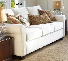 Pottery Barn Buchanan Sofa Review Buchanan Roll Arm Upholstered Deluxe Sleeper Sofa Pottery Barn