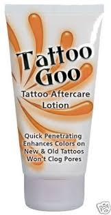 tattoo aftercare cream uk tattoo goo ultimate tattoo aftercare cream enhances colours