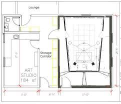 collections of music studio floor plans free home designs