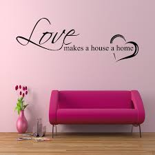 home love family wall art sticker quote decal mural stencil