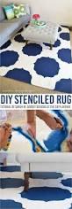 Rug Painting Ideas Best 25 Stencil Rug Ideas On Pinterest Inexpensive Rugs