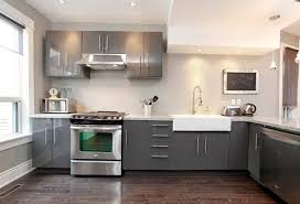 Kitchen Cabinets Grey Grey Kitchen Cabinets With White Countertops Rehab Pinterest
