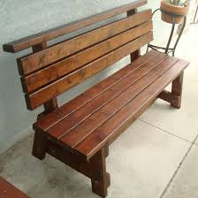 Building Outdoor Wooden Tables by Best 25 Wooden Garden Benches Ideas On Pinterest Craftsman
