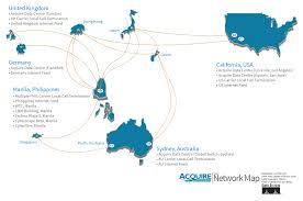 Network Map Core Network Map Acquire Bpo Australia