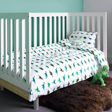 Toy Story Cot Bed Duvet Set Dinosaur Cot Bed Duvet Set By Lulu And Nat Notonthehighstreet Com