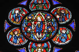 octagon stained glass window gothic what ideas transformed medieval buildings