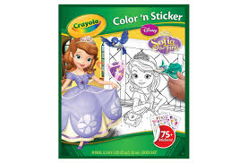 crayola sofia color u0026 sticker book shopaholic kids
