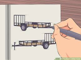 how to build a utility trailer 7 steps with pictures wikihow