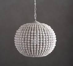 wood bead ceiling light wood bead pendant