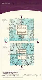 marina 101 dream tower floor plans justproperty com