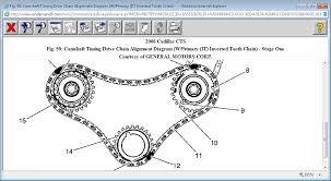 2005 cadillac cts common problems timing chain timing marks needed can i get just a timing chain