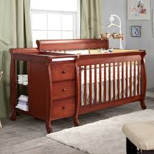 Changing Table Sheets Baby Cribs Superb Baby Crib And Changing Table Best Baby Crib