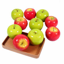 Apple Decor For Kitchen Popular Artificial Apples Buy Cheap Artificial Apples Lots From