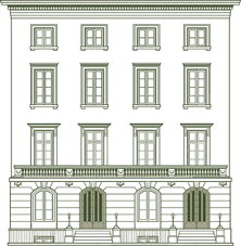 townhouse center donate to help ny landmarks conservancy book
