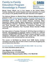 national alliance on mental illness western massachusetts inc