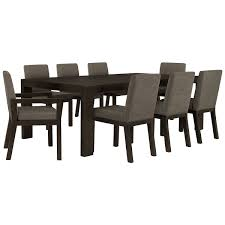 city furniture tocara dark tone rectangular dining room