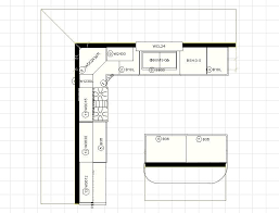 10x10 kitchen floor plans fresh 10x10 kitchen layout with island pertaining to 43