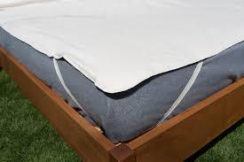 organic cotton mattress protector soaring heart natural bed company