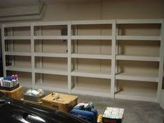 Free Wooden Garage Shelf Plans by Ideas Diy Garage Shelves With Brick Walls Different Types For Diy