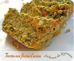 cuisiner flocon d avoine terrine aux flocons d avoine et julienne de légumes cuisine et