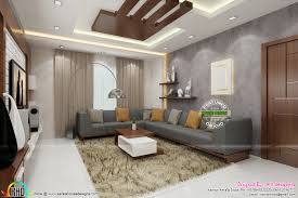 posh living room interior kerala home design and floor plans