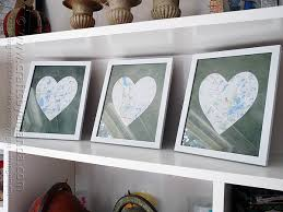 wedding gift map framed heart maps crafts by amanda