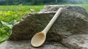 Carving Wooden Kitchen Utensils by Carving Wooden Spoon Using Only Handtools Youtube