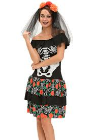 Skeleton Halloween Dress by Online Get Cheap Bones Halloween Costume Aliexpress Com Alibaba