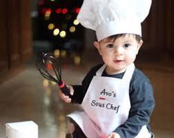 chef costume baby chef costume etsy