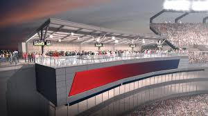 Gillette Stadium Floor Plan by Improvements Coming To Upper Concourse Of Gillette Stadium