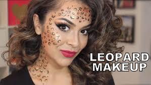 Halloween Makeup Look by Easy Last Minute Halloween Look Leopard Makeup Trinaduhra