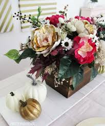 Fall Table Decor Floral Fall Table Pretty Providence