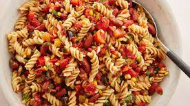 Mexican Pasta Salad Creamy Kale Caesar Pasta Salad Recipe Tablespoon Com