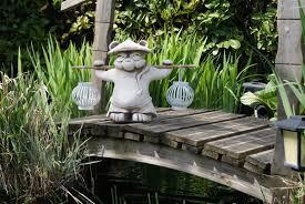 statues de jardin en pierre vente de panda troll elfe fée dragon en pierre reconstituéé