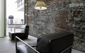 design tapete eine texturtapete mit zigelmuster lifestyle und design