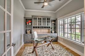 ceiling fan crown molding traditional home office with carpet ceiling fan crown molding