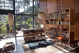 in the livingroom eames house conservation project